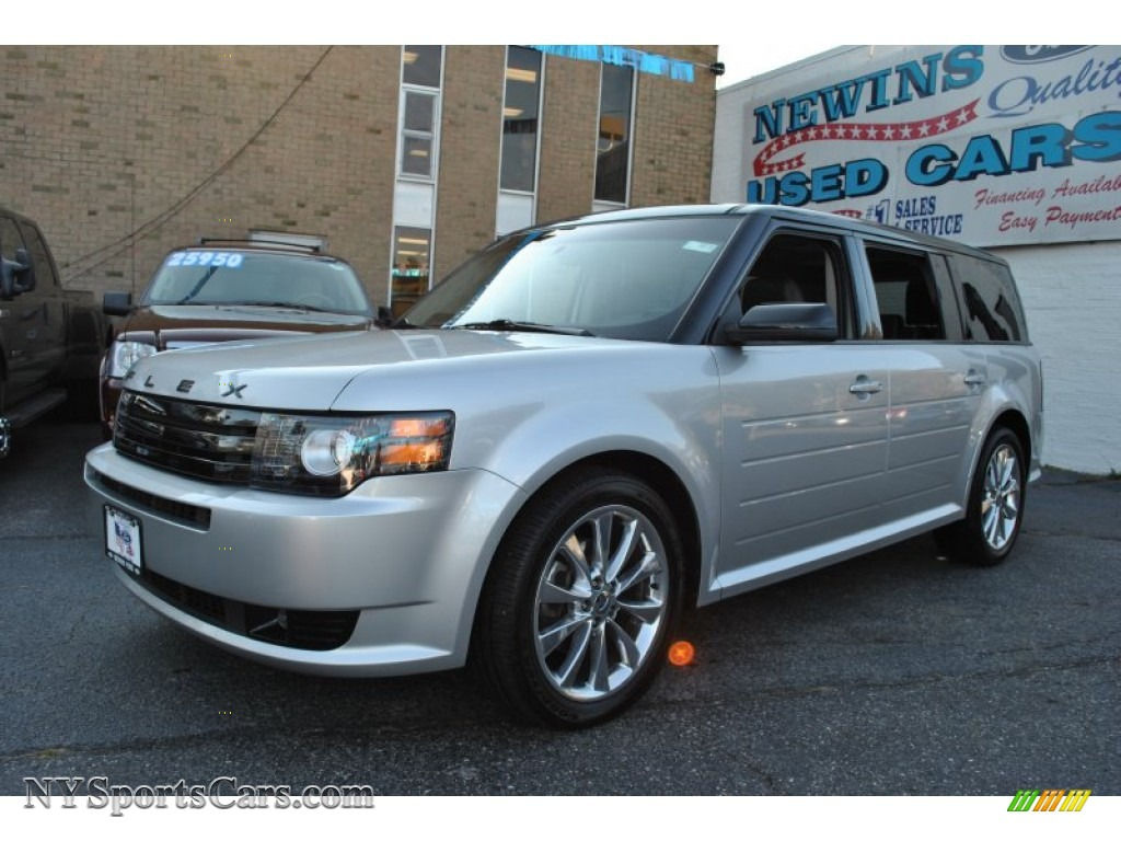 2011 ford flex titanium awd ecoboost in ingot silver metallic d23493 cars. Black Bedroom Furniture Sets. Home Design Ideas