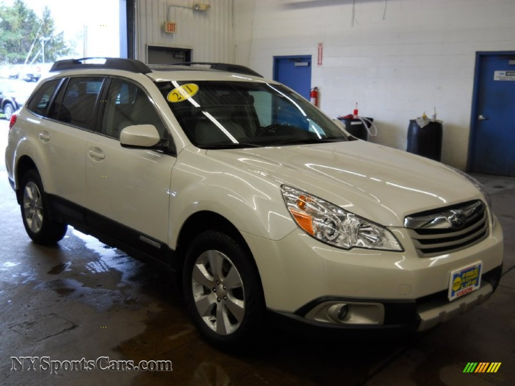 2011 subaru outback 3 6r limited wagon in satin white. Black Bedroom Furniture Sets. Home Design Ideas