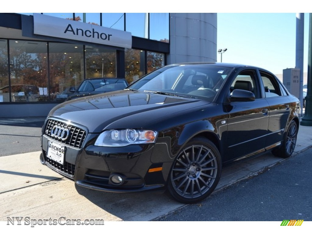 2008 Audi A4 2 0t Quattro S Line Sedan In Brilliant Black