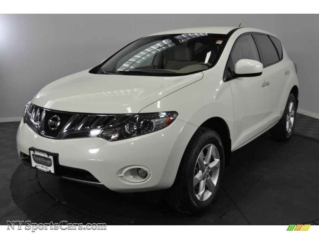 2009 nissan murano sl awd in glacier pearl 119352 cars for sale in new york. Black Bedroom Furniture Sets. Home Design Ideas