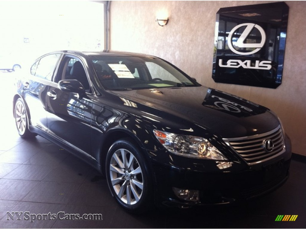 2010 lexus ls 460 awd in obsidian black 004826 cars for sale in new york. Black Bedroom Furniture Sets. Home Design Ideas