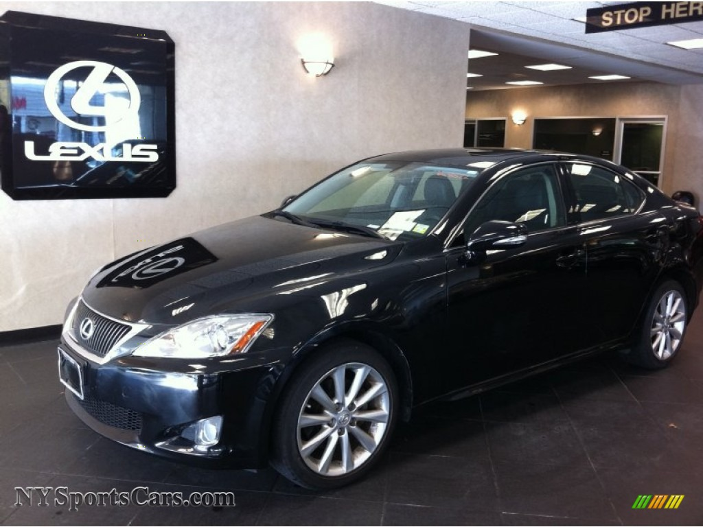2009 lexus is 250 awd in obsidian black photo 3 028969 cars for sale in. Black Bedroom Furniture Sets. Home Design Ideas