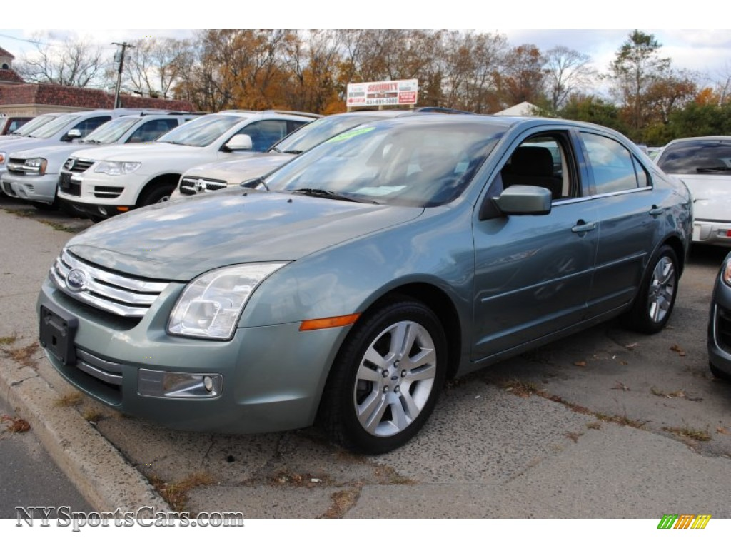 2006 Ford Fusion Sel In Titanium Green Metallic 189757