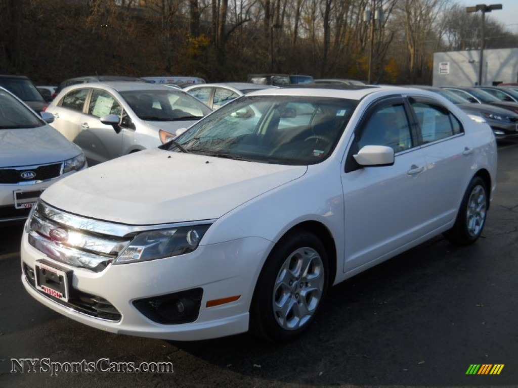 2010 ford fusion se in white platinum tri coat metallic 223525 cars for. Black Bedroom Furniture Sets. Home Design Ideas
