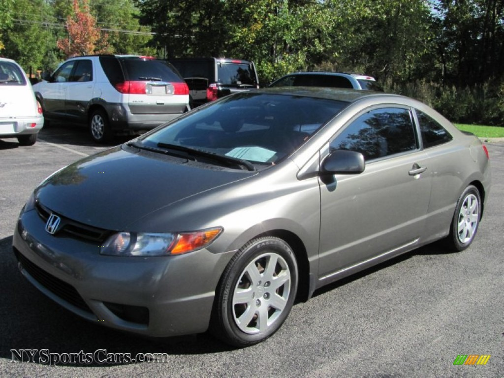 2007 honda civic lx coupe in galaxy gray metallic 534053 cars for sale in. Black Bedroom Furniture Sets. Home Design Ideas