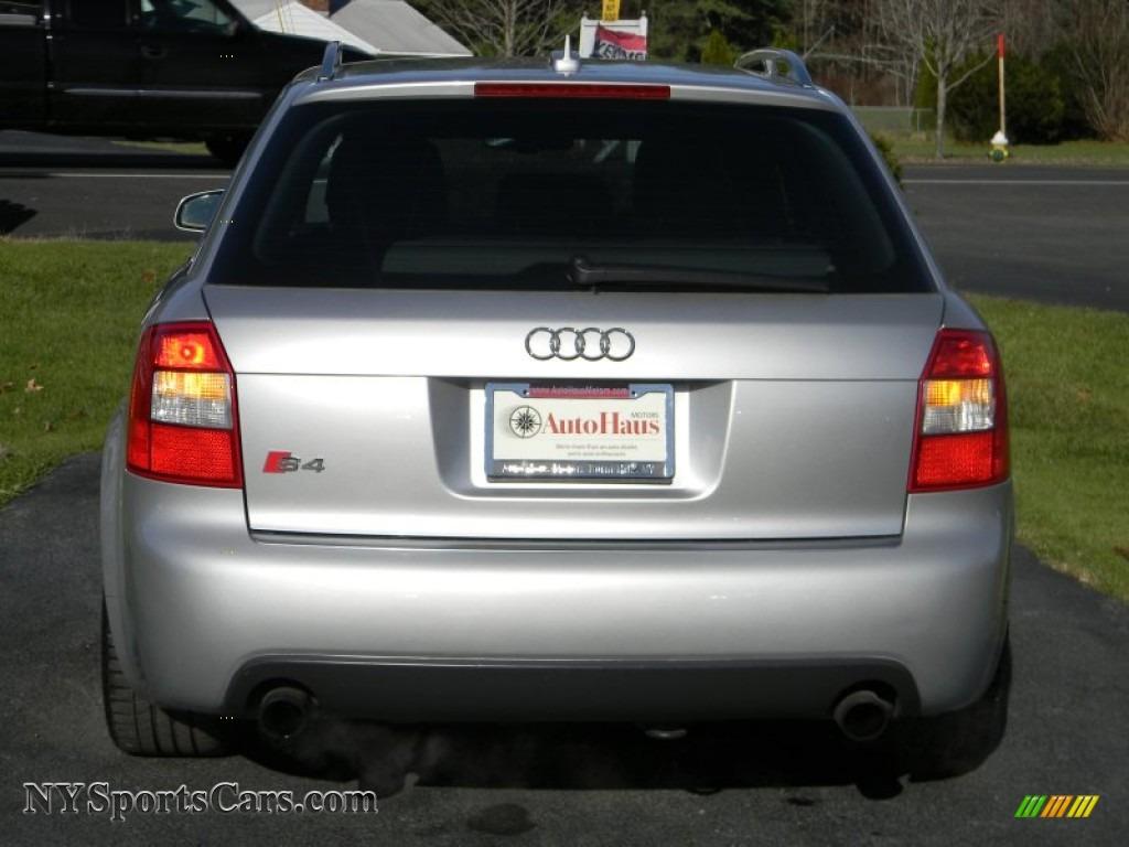 2005 Audi S4 4 2 Avant Wagon In Light Silver Metallic border=