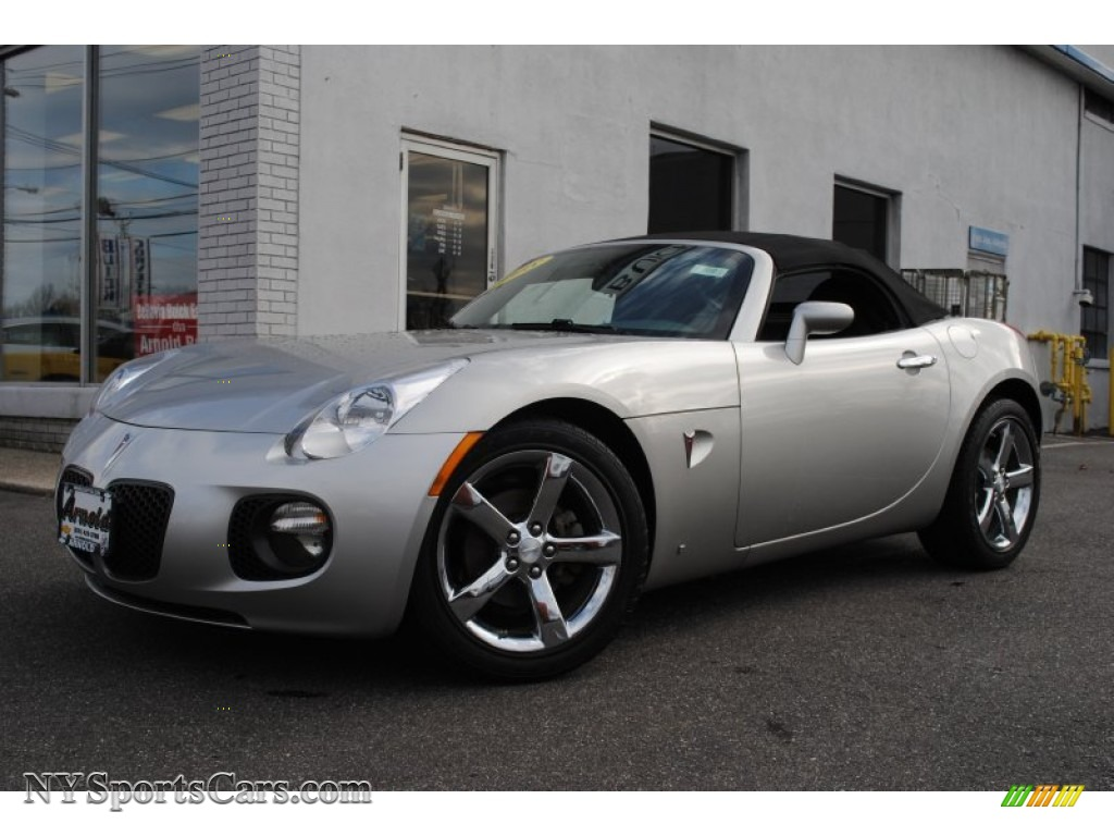 2008 Pontiac Solstice Gxp Roadster In Cool Silver 113091 Nysportscars Com Cars For Sale In New York