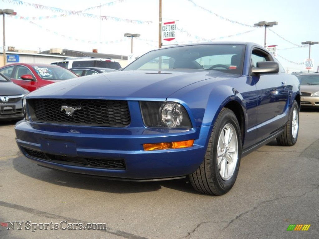 2006 Ford Mustang V6 Deluxe Coupe In Vista Blue Metallic