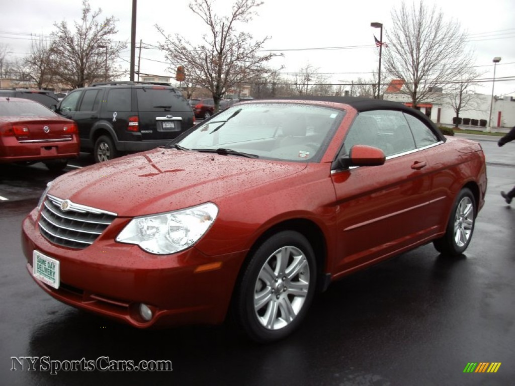 2010 Chrysler Sebring Touring Convertible In Inferno Red