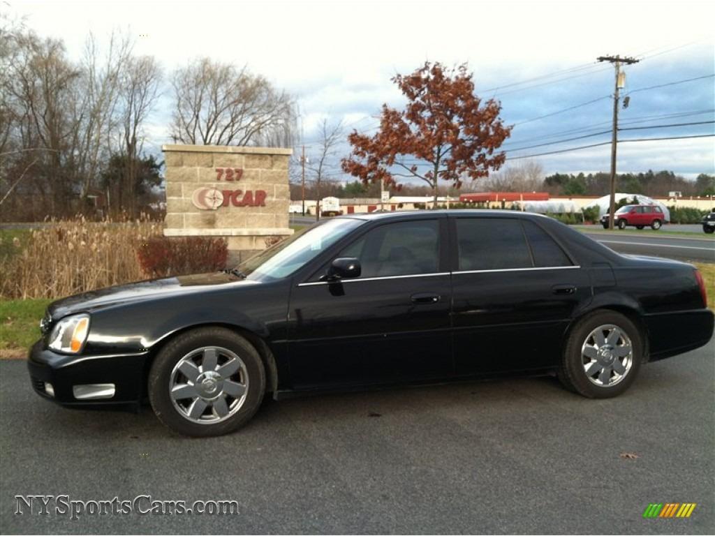 2004 cadillac deville sedan in black raven 113314 nysportscars com cars for sale in new york