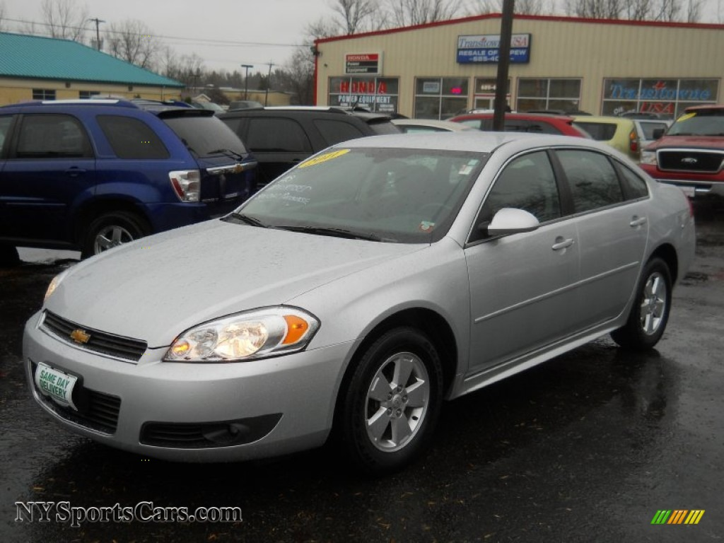 2011 chevrolet impala lt in silver ice metallic 144824 cars for sale in. Black Bedroom Furniture Sets. Home Design Ideas