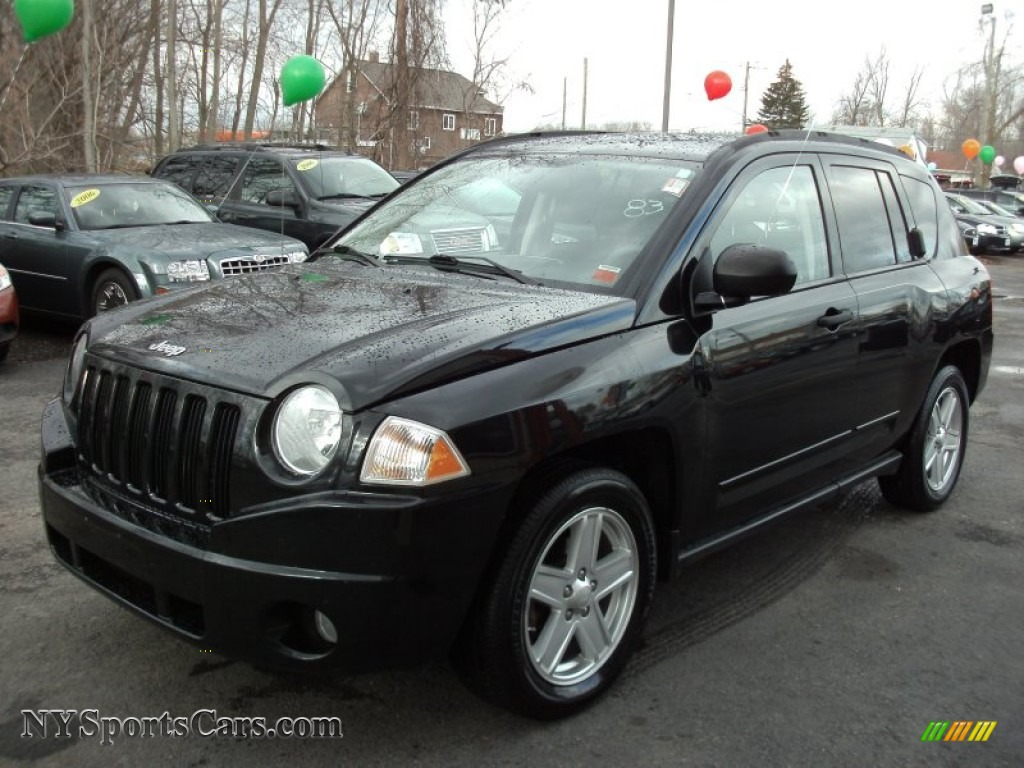 2008 jeep compass sport 4x4 in brilliant black crystal pearl 528211 cars. Black Bedroom Furniture Sets. Home Design Ideas