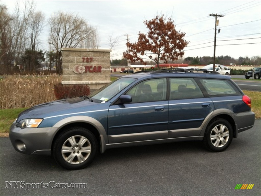2005 Subaru Outback 2 5i Limited Wagon In Atlantic Blue