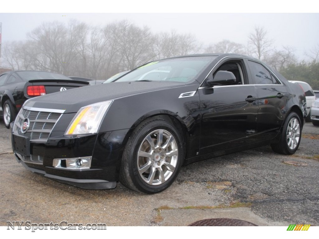 2009 cadillac cts sedan in black raven 156704 cars for sale in new york. Black Bedroom Furniture Sets. Home Design Ideas