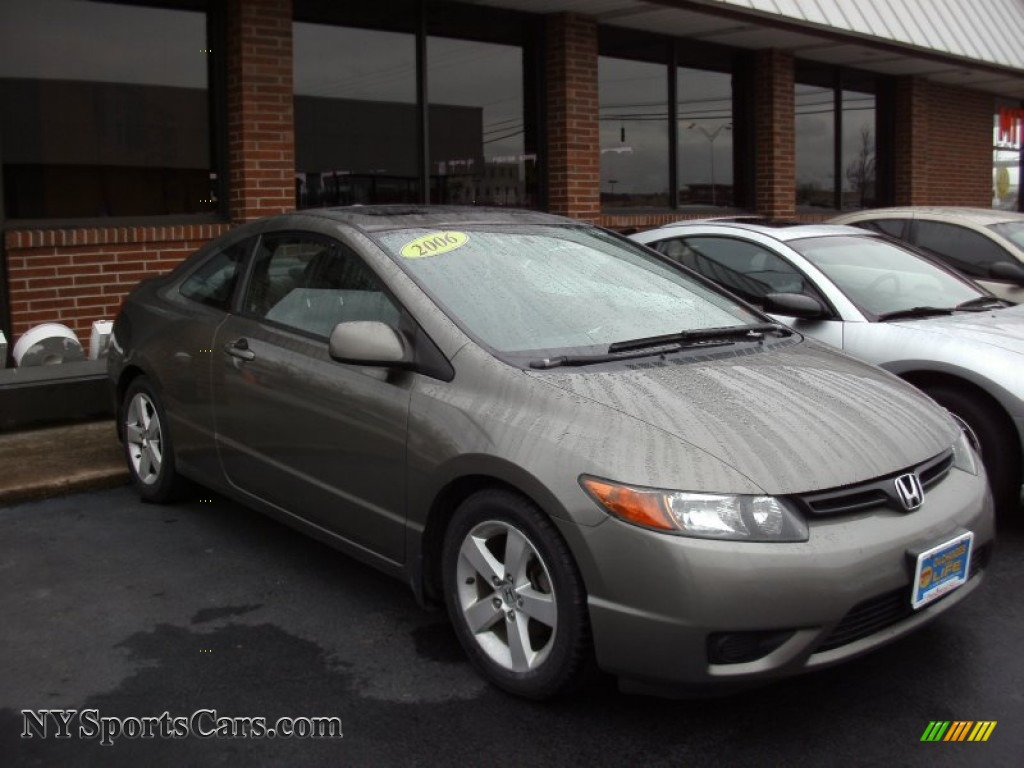 2006 honda civic ex coupe in galaxy gray metallic 527426 cars for sale in. Black Bedroom Furniture Sets. Home Design Ideas