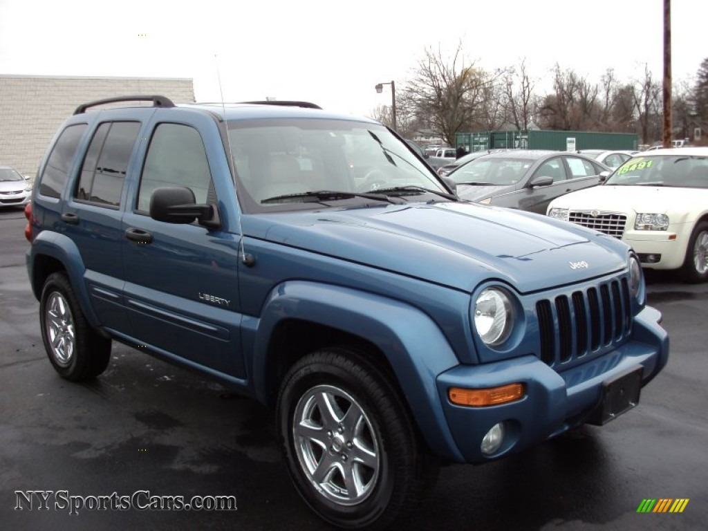 2004 Jeep Liberty Limited 4x4 In Atlantic Blue Pearl