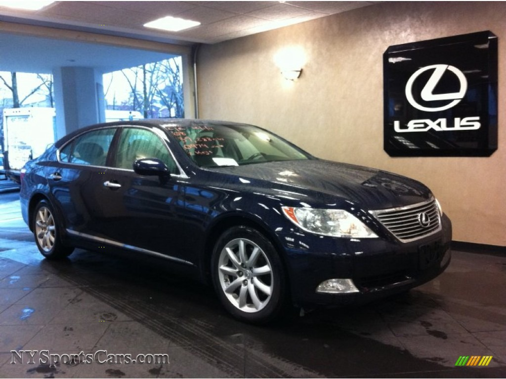 2008 lexus ls 460 l in black sapphire blue pearl photo 2. Black Bedroom Furniture Sets. Home Design Ideas