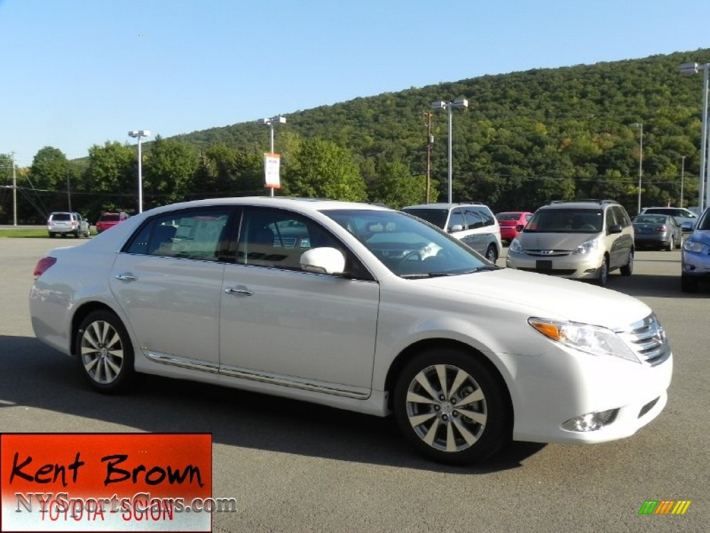 2011 toyota avalon limited in blizzard white pearl 427787 cars for sale. Black Bedroom Furniture Sets. Home Design Ideas