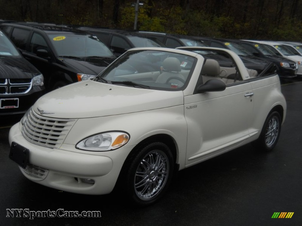 2005 Chrysler Pt Cruiser Gt Convertible In Cool Vanilla White 356617
