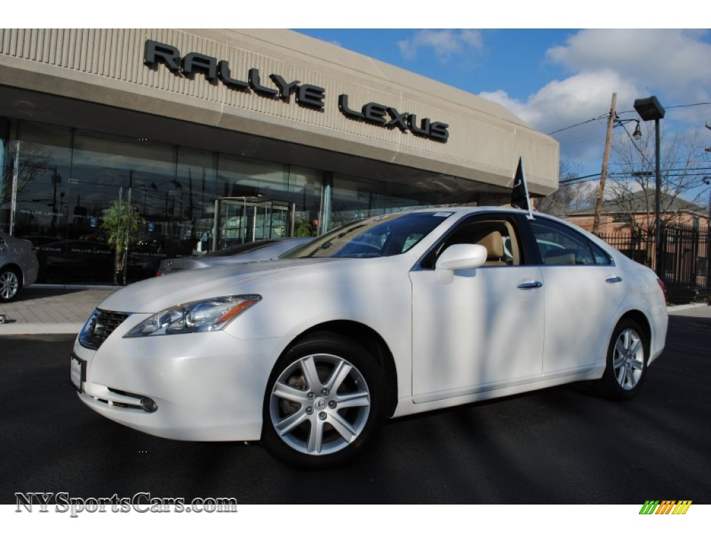 2009 lexus es 350 in starfire pearl white 280418 cars for sale in new york. Black Bedroom Furniture Sets. Home Design Ideas