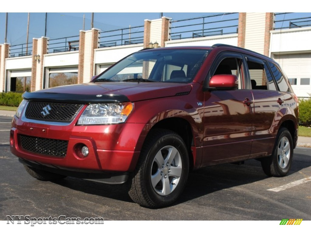 2006 suzuki grand vitara xsport 4x4 in shining red pearl 100892 cars for. Black Bedroom Furniture Sets. Home Design Ideas
