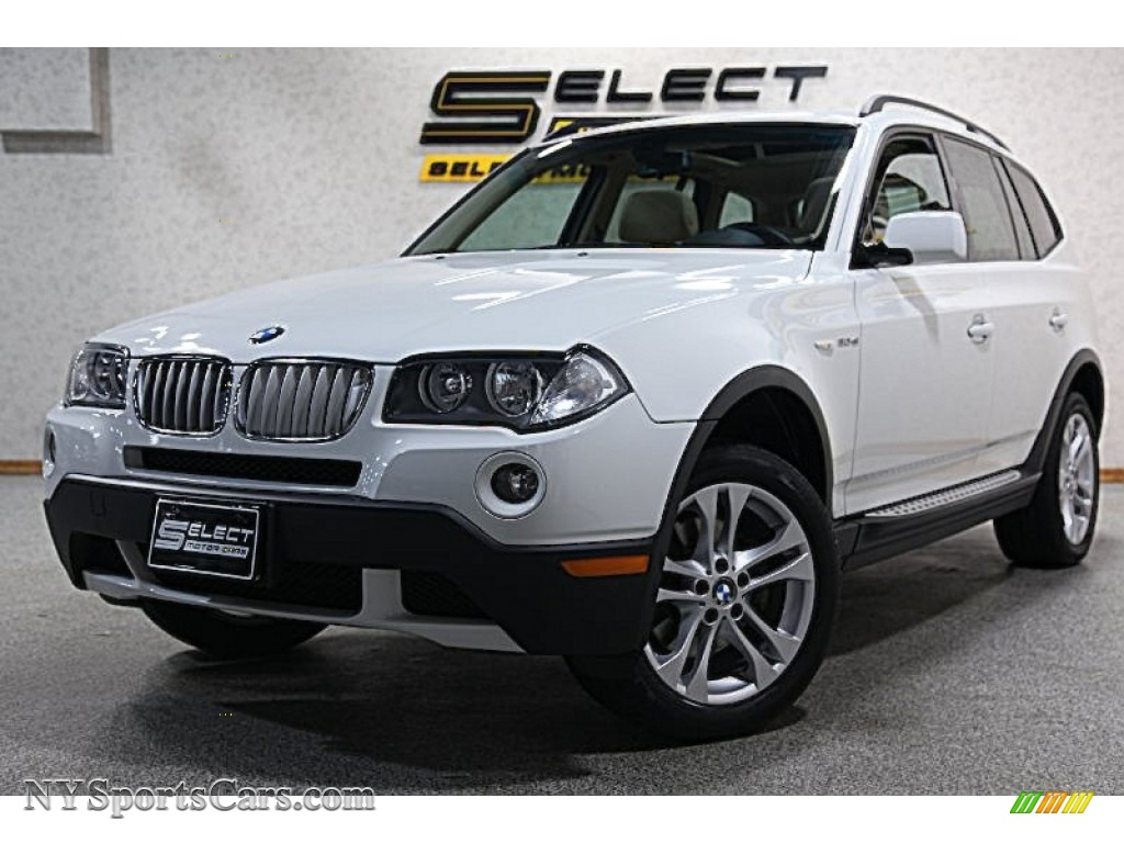 2008 bmw x3 in alpine white j15933 cars for sale in new york. Black Bedroom Furniture Sets. Home Design Ideas