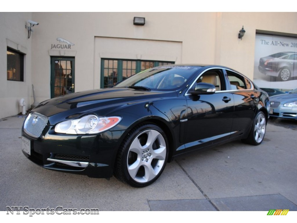 2009 jaguar xf supercharged in botanical green metallic. Black Bedroom Furniture Sets. Home Design Ideas