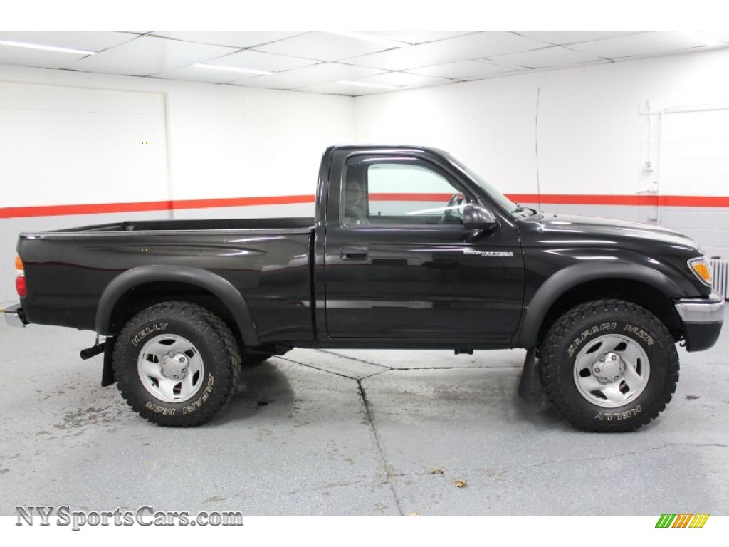 2001 toyota tacoma regular cab 4x4 in black sand pearl photo 32 820936. Black Bedroom Furniture Sets. Home Design Ideas