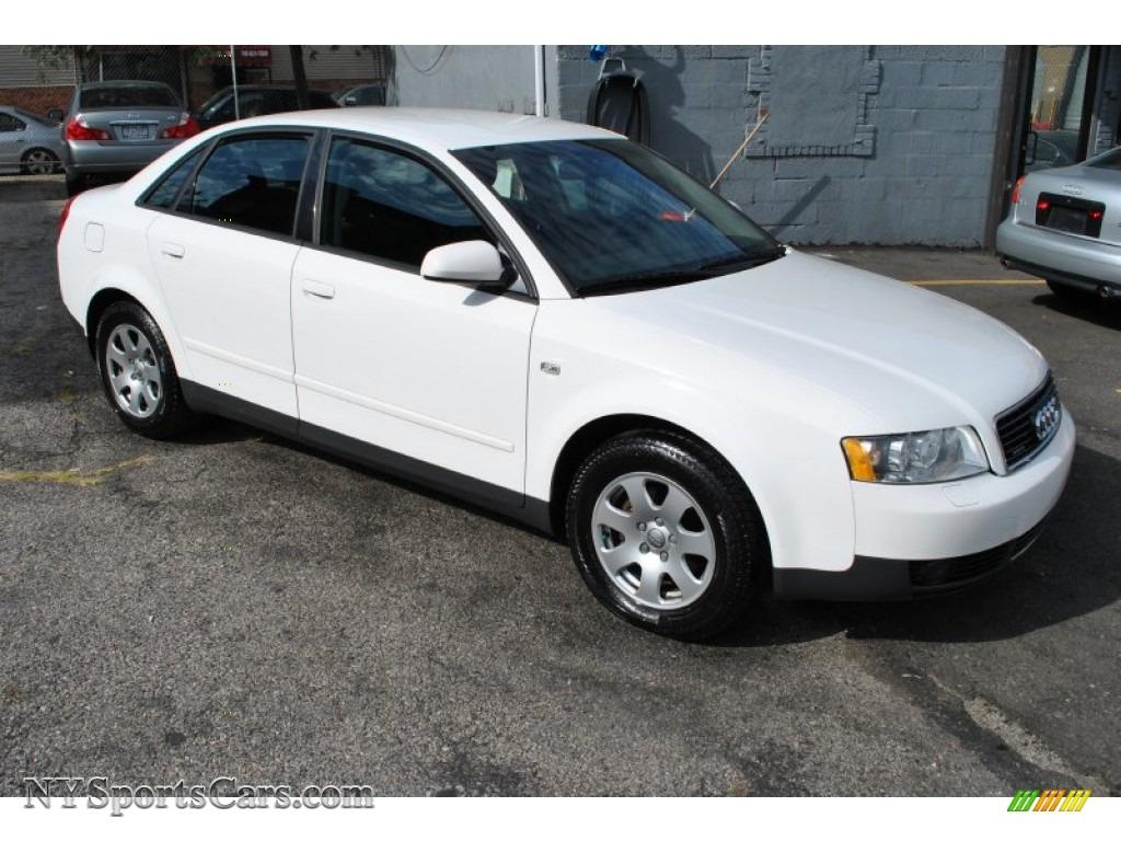 2003 audi a4 1 8t quattro sedan in polar white 348109 nysportscars com cars for sale in new york nysportscars com