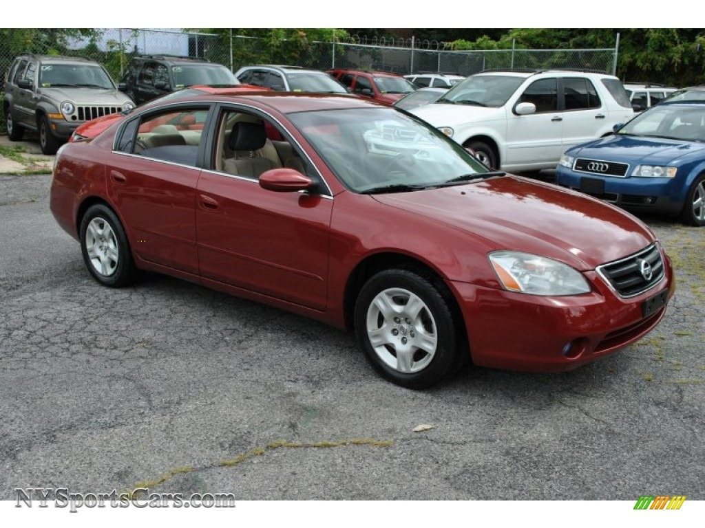 2004 Nissan Altima 2 5 S In Sonoma Sunset Pearl Red