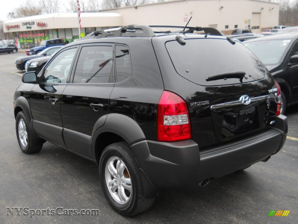 2007 hyundai tucson se 4wd in obsidian black metallic. Black Bedroom Furniture Sets. Home Design Ideas