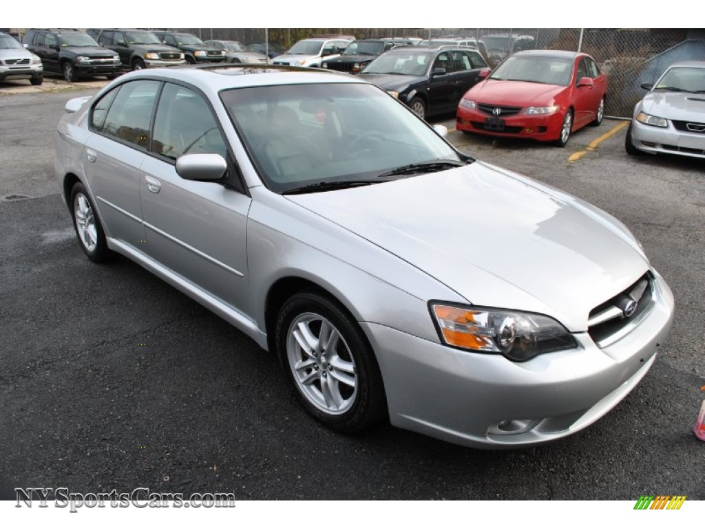 2005 subaru legacy limited sedan in brilliant silver metallic 214598. Black Bedroom Furniture Sets. Home Design Ideas
