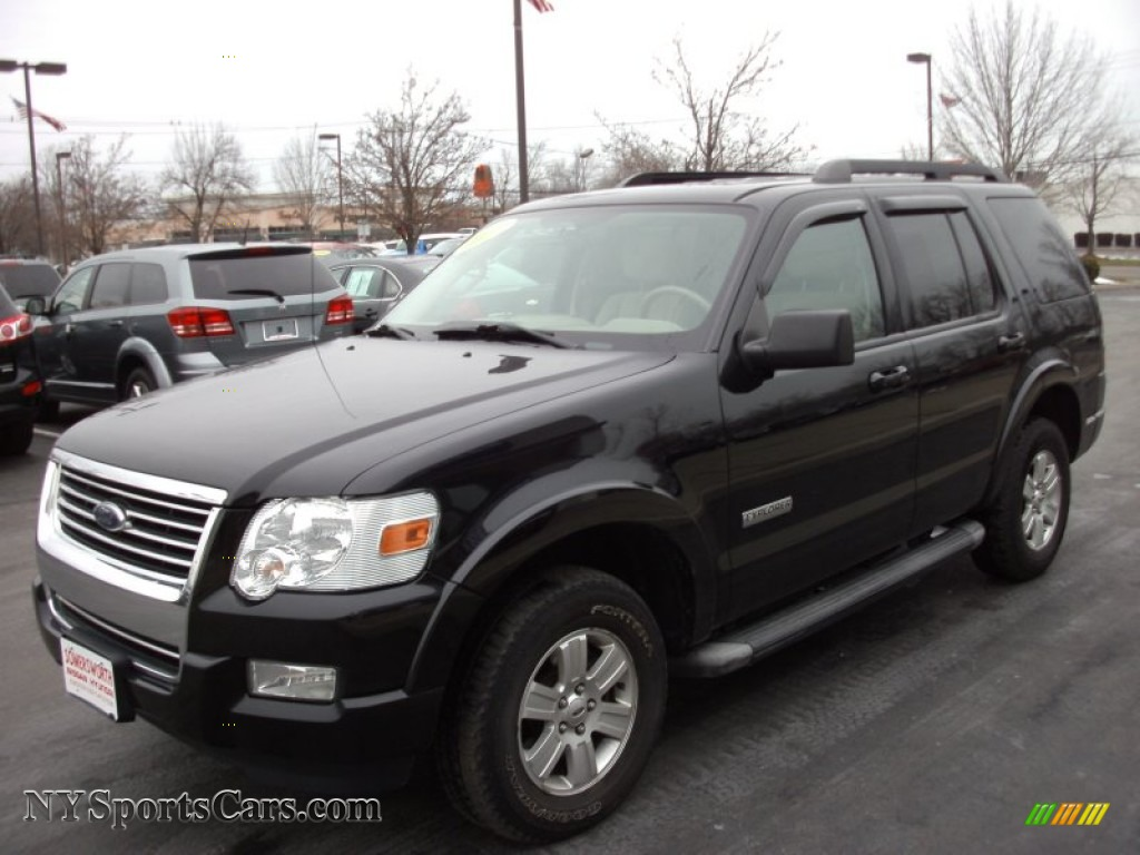 Ford Explorer Color Options >> 2007 Ford Explorer XLT 4x4 in Black - B25351 | NYSportsCars.com - Cars for sale in New York