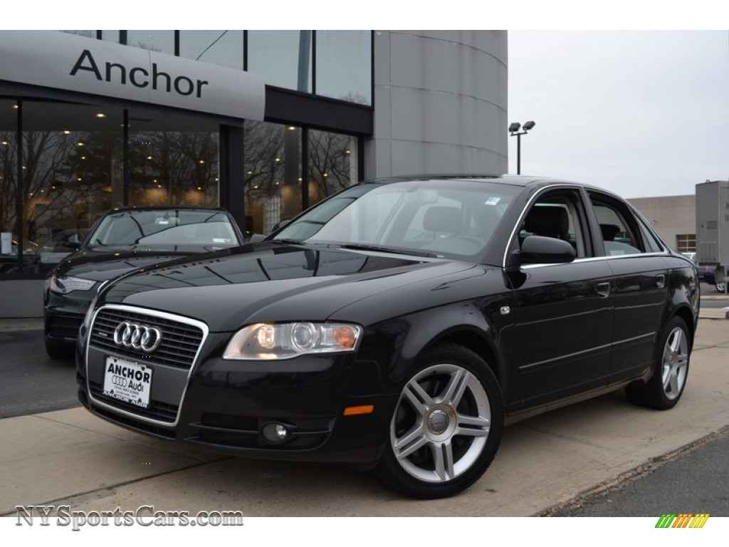 2006 Audi A4 2 0t Quattro Sedan In Brilliant Black