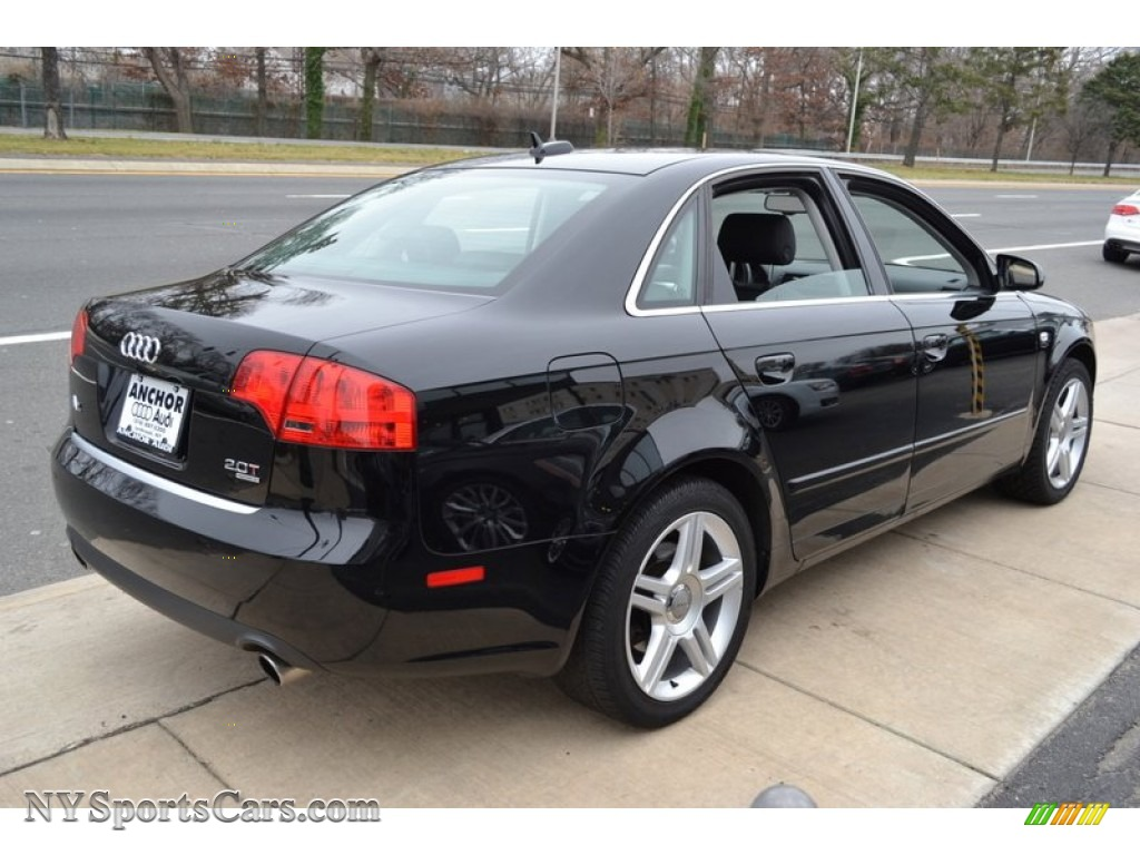 2006 audi a4 2 0t quattro sedan in brilliant black photo 5 240007 cars. Black Bedroom Furniture Sets. Home Design Ideas