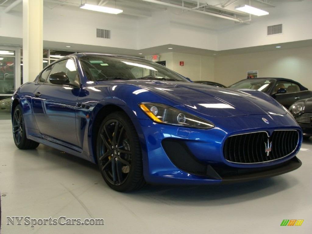 2012 Maserati GranTurismo MC Coupe in Blu Mediterraneo ...