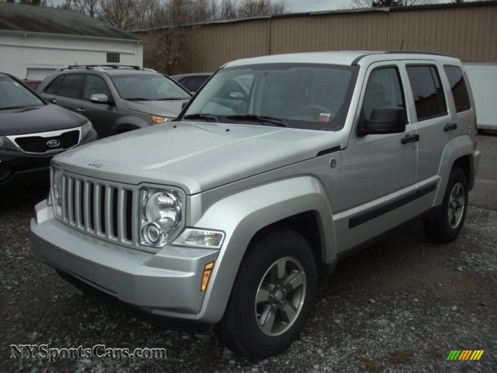 2008 liberty sport 4x4 bright silver metallic pastel slate gray. Cars Review. Best American Auto & Cars Review