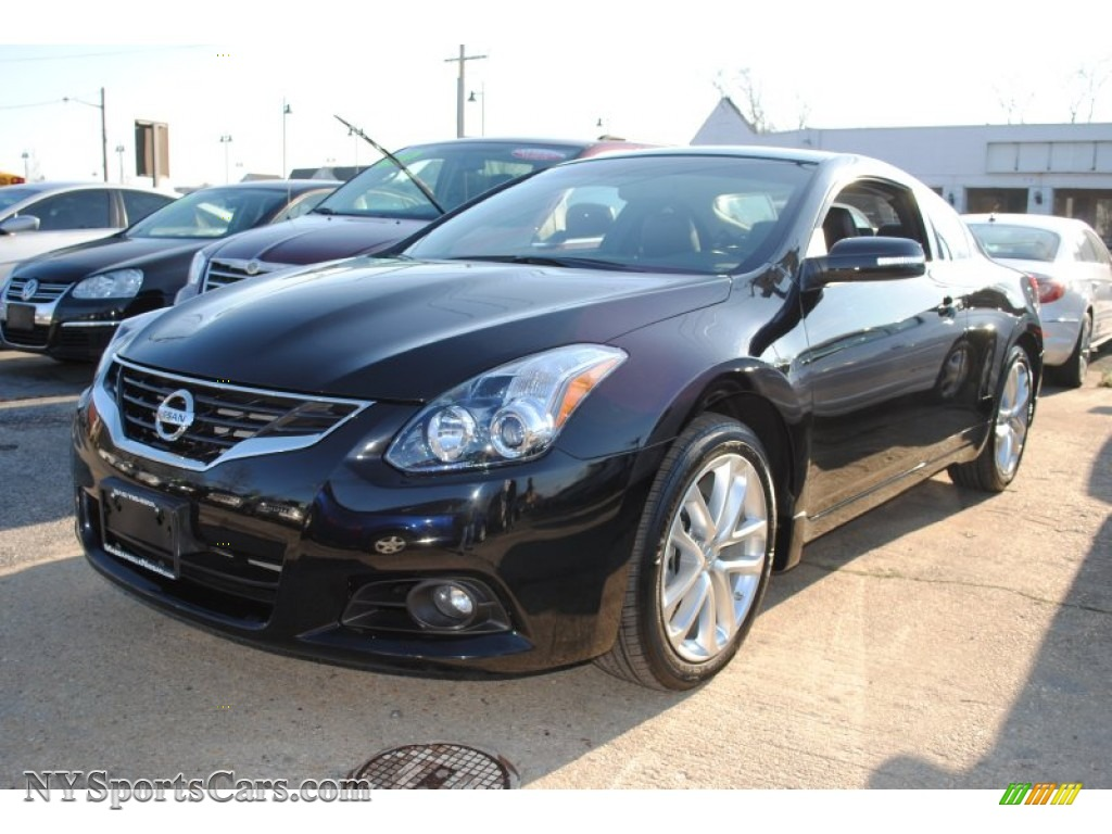 2012 nissan altima 3 5 sr coupe in super black 137247 cars for sale in. Black Bedroom Furniture Sets. Home Design Ideas