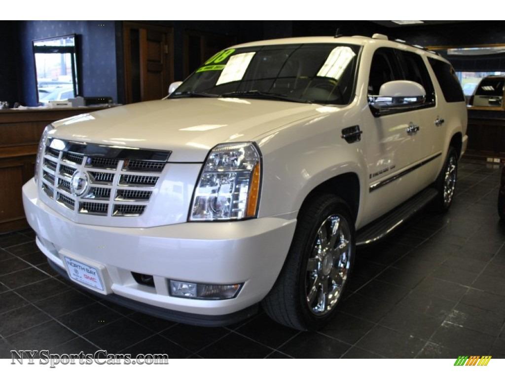 Northern Neck Chevrolet >> 2008 Cadillac Escalade ESV AWD in White Diamond - 210348 ...