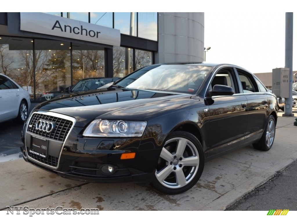 2008 audi a6 3 2 quattro sedan in brilliant black 177498 cars for sale in. Black Bedroom Furniture Sets. Home Design Ideas