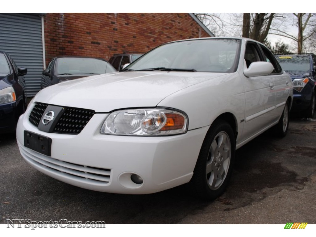 2005 nissan sentra 1 8 s special edition in cloud white 480164 cars for. Black Bedroom Furniture Sets. Home Design Ideas