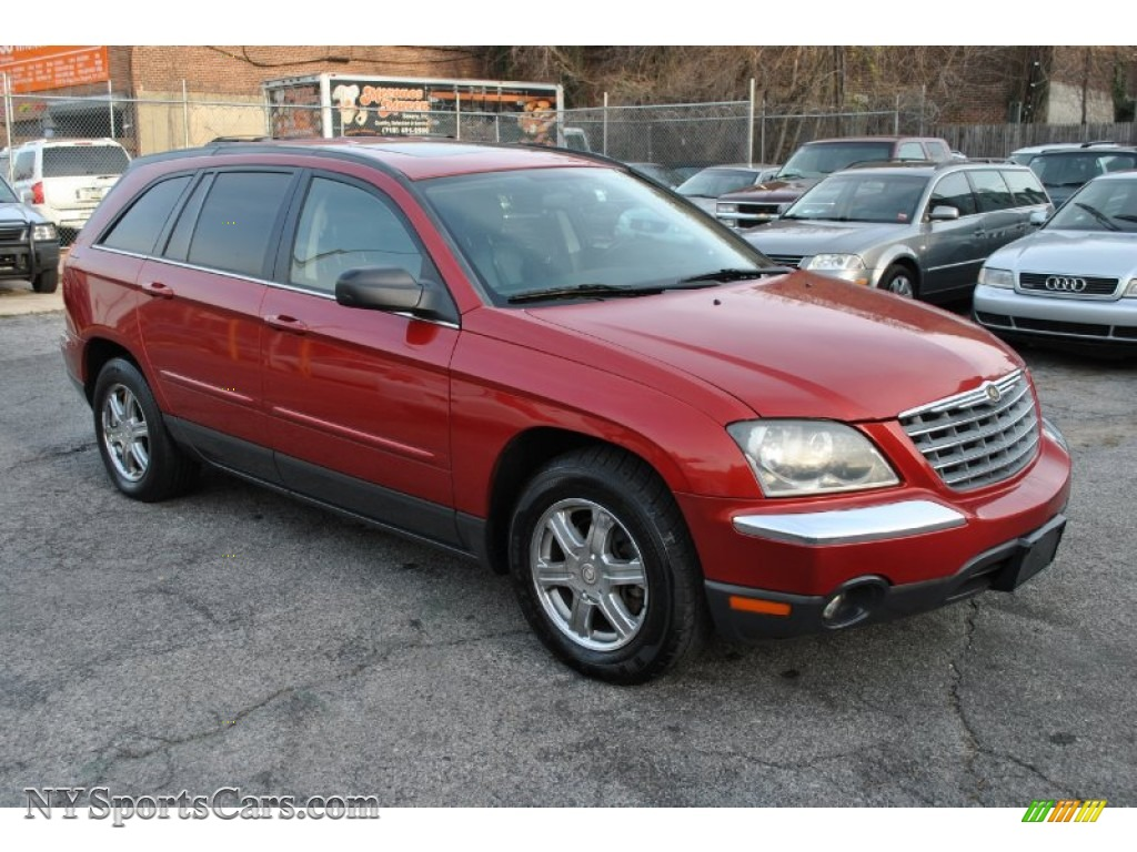 2004 Chrysler Pacifica AWD in Inferno Red Pearl - 510574 ...