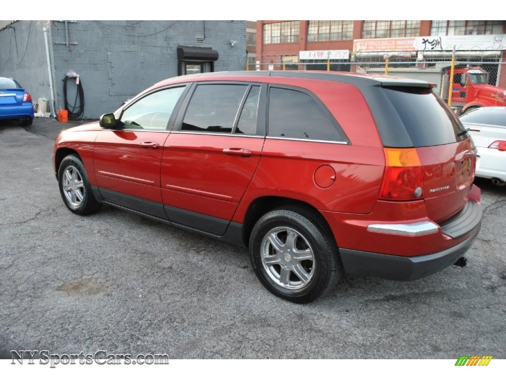 2004 chrysler pacifica awd in inferno red pearl photo 3 510574 cars for. Black Bedroom Furniture Sets. Home Design Ideas