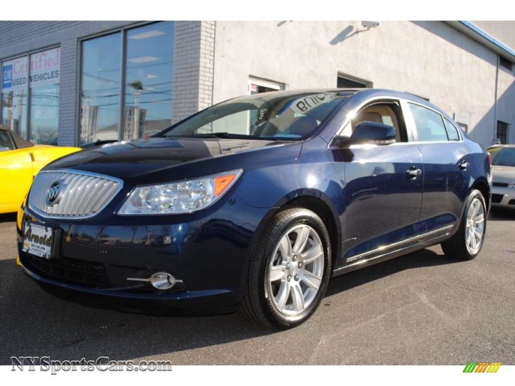 2011 buick lacrosse cxl awd in midnight blue metallic 185387 cars for. Black Bedroom Furniture Sets. Home Design Ideas