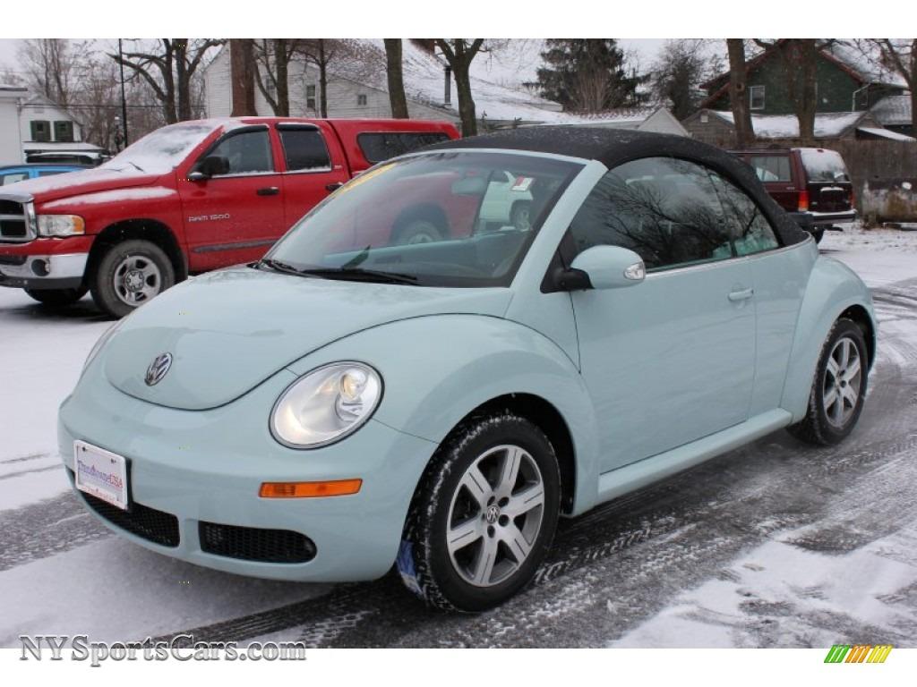 2006 Volkswagen New Beetle 2.5 Convertible in Aquarius Blue - 315079 ...