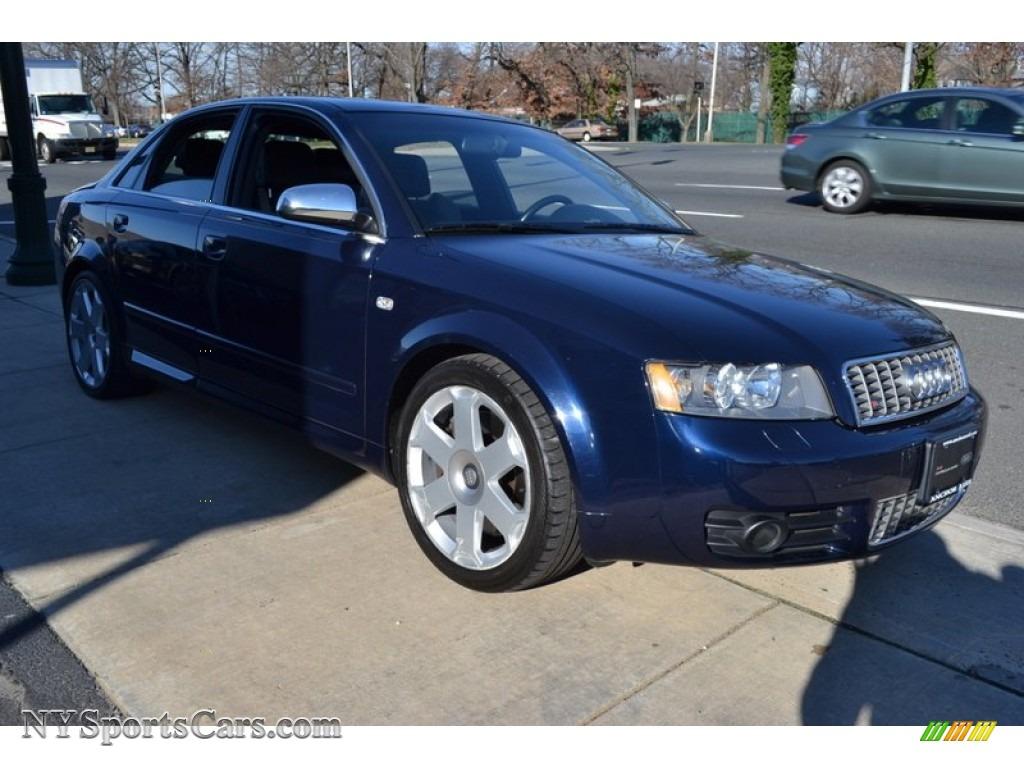 2004 audi s4 4 2 quattro sedan in moro blue pearl effect. Black Bedroom Furniture Sets. Home Design Ideas