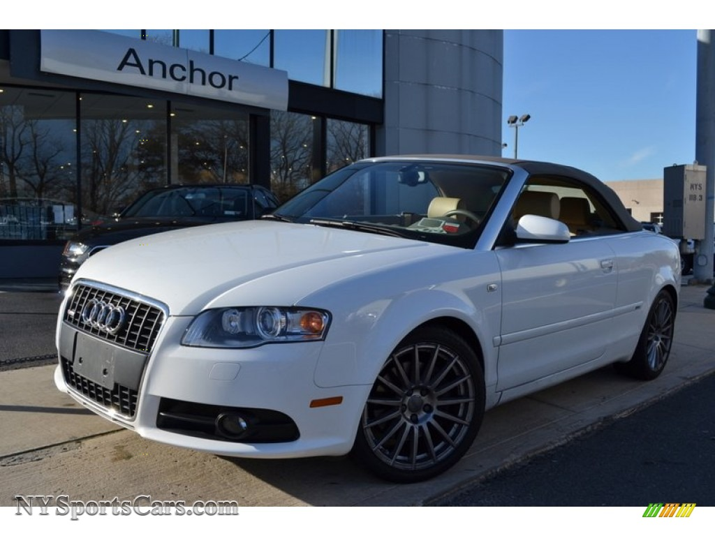 2009 audi a4 3 2 quattro cabriolet in ibis white 009533. Black Bedroom Furniture Sets. Home Design Ideas