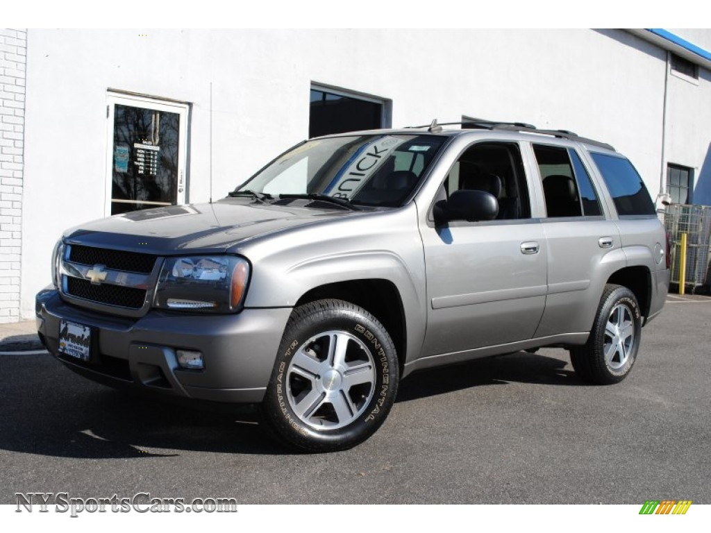 2008 chevrolet trailblazer lt 4x4 in graystone metallic 101217 cars for. Black Bedroom Furniture Sets. Home Design Ideas