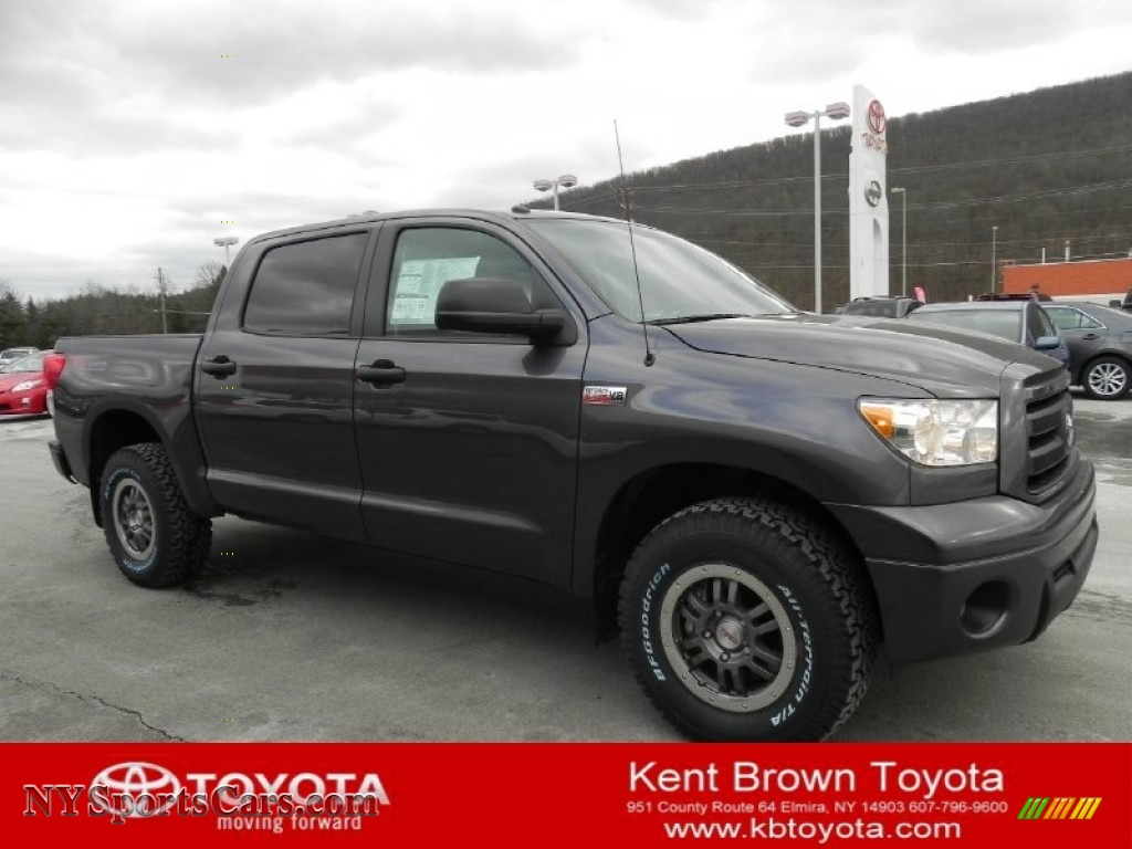2012 toyota tundra trd rock warrior crewmax 4x4 in magnetic gray metallic 221344. Black Bedroom Furniture Sets. Home Design Ideas