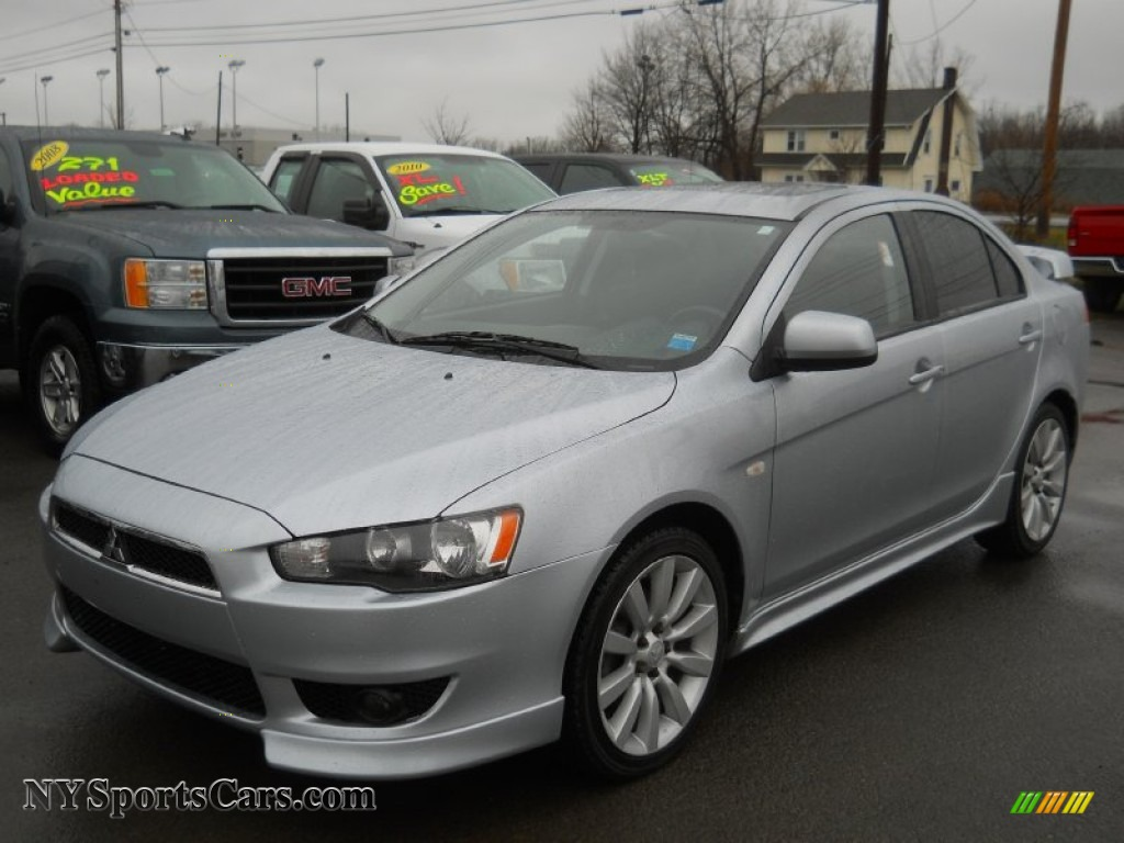 2008 Mitsubishi Lancer Gts In Apex Silver Metallic